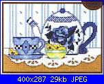 Teiere , caffettiere , bollitori e tazze - schemi e link-teiera-blu-jpg