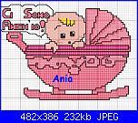 Sampler nascita - schemi e link-carrozzina-girl-jpg