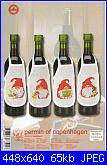 Salvagocce - grembiule per bottiglia - schemi e link-b-jpg