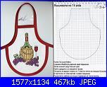 Salvagocce - grembiule per bottiglia - schemi e link-cho-2-jpg
