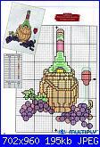 Salvagocce - grembiule per bottiglia - schemi e link-cho-jpg