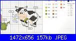 Mucche* ( Vedi ANIMALI ) - schemi e link-136464888-jpg