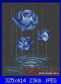 Rose, Roses, Rosas, Rosen - schemi e link-blue-rose-jpg
