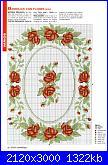 Rose, Roses, Rosas, Rosen - schemi e link-vassoio-2-jpg
