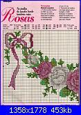 Rose, Roses, Rosas, Rosen - schemi e link-01-33-jpg