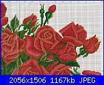 Rose, Roses, Rosas, Rosen - schemi e link-rose-rosse-2-jpg