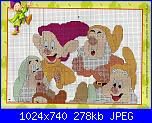 Biancaneve e i sette nani  schemi e link-20-jpg