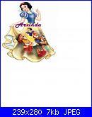 Biancaneve e i sette nani  schemi e link-blanca-jpg