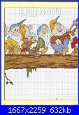 Biancaneve e i sette nani  schemi e link-366907913-jpg
