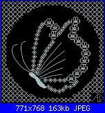 Schemi monocolore - schemi e link-farfalla-jpg
