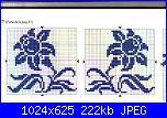 Schemi monocolore - schemi e link-fiori13-jpg