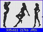 Schemi monocolore - schemi e link-donne-jpg