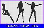 Schemi monocolore - schemi e link-donne-2-jpg