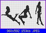 Schemi monocolore - schemi e link-donne-3-jpg