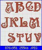 """Alfabeti  """"della nonna """"  ( Vedi ALFABETI ) - schemi e link-01%5B1%5D-jpg"""