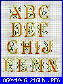 "Alfabeti  ""della nonna ""  ( Vedi ALFABETI ) - schemi e link-img650-jpg"