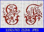 """Alfabeti  """"della nonna """"  ( Vedi ALFABETI ) - schemi e link-alfa-antico-e-f-jpg"""