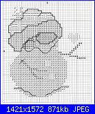 Pupazzi di neve - schemi e link-6-jpg