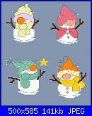 Pupazzi di neve - schemi e link-1-jpg