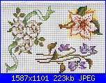 Cuscinetti portafedi* ( Vedi MATRIMONIO ) - schemi e link-cuscino_portafedi_fiori2-jpg