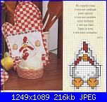 Asciugapiatti - schemi e link-cucina-gallina-3-jpg