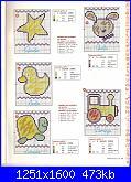 Schemi per bavette, bavaglini - schemi e link-bavaglini-2-jpg
