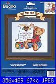 Sampler nascita - schemi e link-bucilla-43068-blue-jean-teddy-sampler-jpg