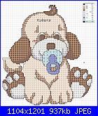 Sampler nascita - schemi e link-cane-jpg