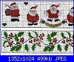 Babbo Natale - schemi e link-barras-de-natal-ponto-cruz-novidades-i-jpg