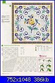 Tovaglie- Tovagliette- schemi e link-tovaglia-piastrelle-5-jpg