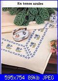 Tovaglie- Tovagliette- schemi e link-fiorellini-azzurri-jpg