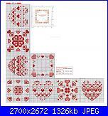 Tovaglie- Tovagliette- schemi e link-cuoricini-1-schema-jpg