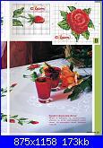 Tovaglie- Tovagliette- schemi e link-rose-1-jpg