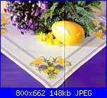 Tovaglie- Tovagliette- schemi e link-bouquet-fiori-jpg