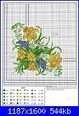 Tovaglie- Tovagliette- schemi e link-bouquet-fiori-1-jpg