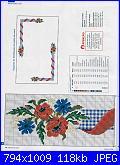 Tovaglie- Tovagliette- schemi e link-fiori-di-campo-1-jpg