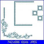Tovaglie- Tovagliette- schemi e link-fiori-blu-foto-jpg
