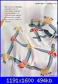 Tovaglie- Tovagliette- schemi e link-tovaglia-tulipani-e-narcisi-jpg