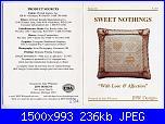 Cuscinetti portafedi* ( Vedi MATRIMONIO ) - schemi e link-love-affection-jpg