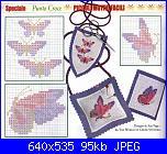 Accessori Vari - porta e trovaforbici  - porta-aghi - schemi e link-farfalle-jpg