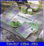 Tovaglie- Tovagliette- schemi e link-americanofoto-jpg