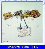 Bordi per bambini (lenzuolini ed altro) schemi e link-dmc-k4431-do-not-disturb-jpg