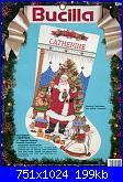 Natale: Le calze- schemi e link-bucilla-82917-victorian-christmas-stocking-jpg