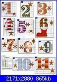 Natale - Il Calendario dell'Avvento - schemi e link-01-jpg