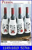 Salvagocce - grembiule per bottiglia - schemi e link-78-2341-jpg