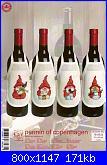 Salvagocce - grembiule per bottiglia - schemi e link-78-8533-jpg