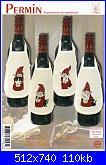 Salvagocce - grembiule per bottiglia - schemi e link-0-jpg