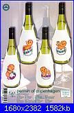 Salvagocce - grembiule per bottiglia - schemi e link-78-9570-jpg