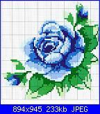 Rose, Roses, Rosas, Rosen - schemi e link-02-jpg