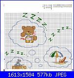 Bordi per bambini (lenzuolini ed altro) schemi e link-orso-che-sogna-jpg